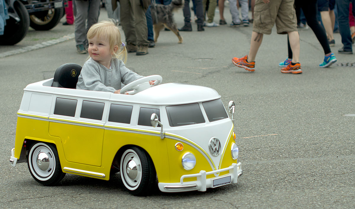 Mini VW-Bus in Action